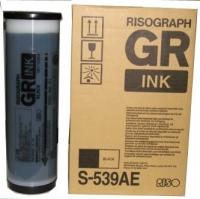 Краска Riso черная GR, S-539-RIS 1000m
