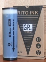 Краска Riso  GR HD, 1000 GR3770HD черная  RITO
