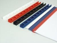 Пластины Press-Binder 12мм черн,  уп/50