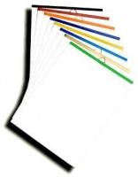 Планки металлические, 420 мм бесцветная верхняя