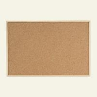 Доска пробковая, деревянная рамка, Dahle, 40х60