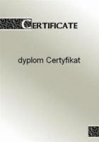 Галерея бумаги, Диплом 170 гр, уп/25 Certyfikat