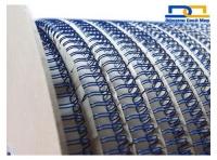 Метал. пружина в бобине 11мм 32 000 колец C синяя
