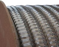 Металлическая пружина в бобине 12,7мм 25 000 колец