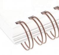Металлические пружины AGAT форматные  А4 11.1мм уп/100 коричневы