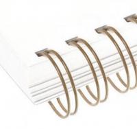 Металлические пружины AGAT форматные  А4 12.7мм уп/100 бронзовый