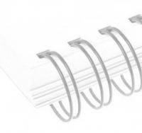 Металлические пружины AGAT форматные  А4 12.7мм уп/100 серебро