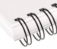 Металлические пружины AGAT форматные  А4 11.1мм уп/100 черный