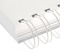 Металлические пружины AGAT форматные  А4 12.7мм уп/100 белый
