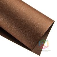 Обложка А4 под кожу 230г коричневый, уп/100