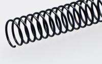 Пластиковая спиральная пружина(48 петель)10mm черная уп/100
