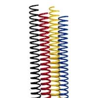 Пластиковая спиральная пружина AGAT (48 петель) 25мм уп/50