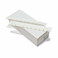Пластины Press Binder 10мм белый, уп/100