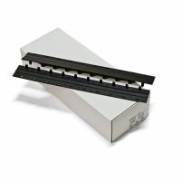 Пластины Press Binder 17мм черный,  уп/100