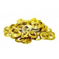 Заклепки 5мм  золото  уп/1000шт