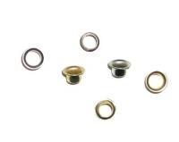 Люверсы 3мм серебро (заклепки) 1000шт