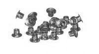 Люверсы 4мм серебро (заклепки) 1000шт