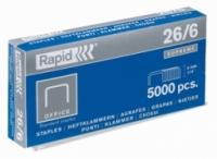 Скобы стандартные 26/8 Rapid, уп/5000шт.