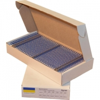 Металлические пружины форматные  А4 8мм уп/100