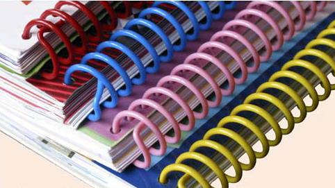 plastic-coil-binding bloknot